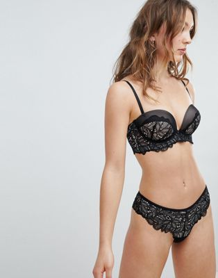 New Look Tulip Lace Brazilian Brief