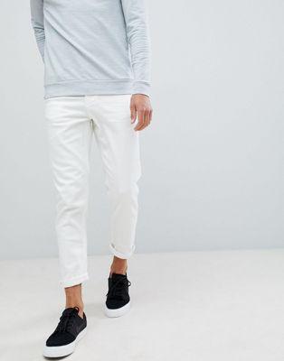 Bild 1 von New Look – Weiße Karottenjeans