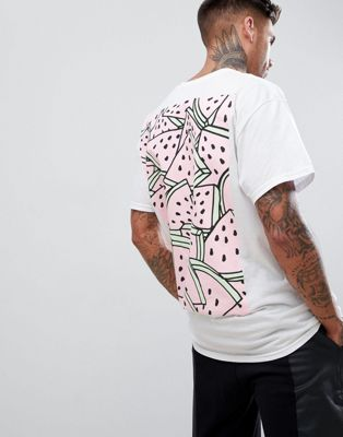 New Love Club Multi Melon Back Print T-Shirt