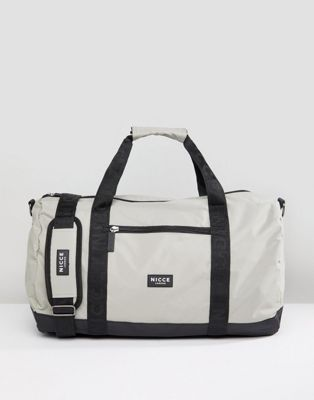 Nicce London Carryall In Gray