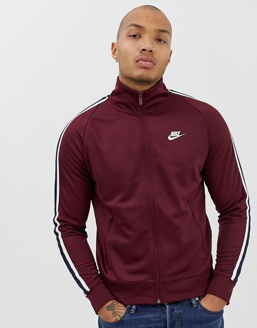 Nike 98 Tribute Jacket In Red