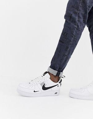 huge selection of 8ba19 73454 Nike - Air Force 1  07 - Baskets fonctionnelles - Blanc AJ7747-100