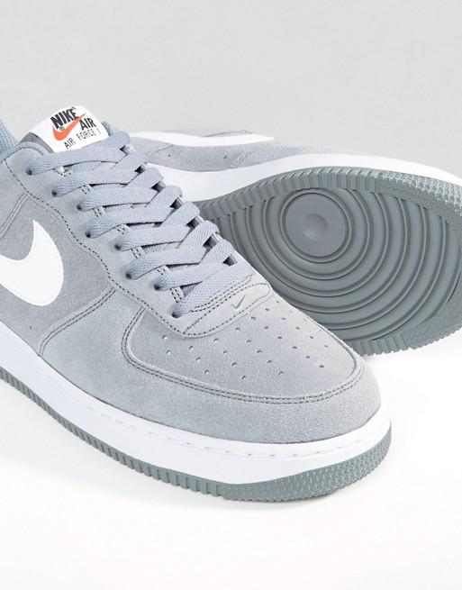 nike air force 1 07 baskets gris 820266-014