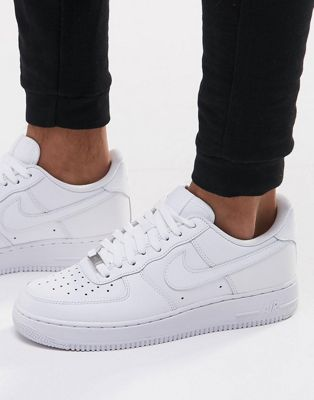 Nike Air Force 1 '07 Trainers In White 315122-111
