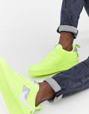 Nike – Air Force 1' 07 Utility – Grüne Sneaker, AJ7747-700