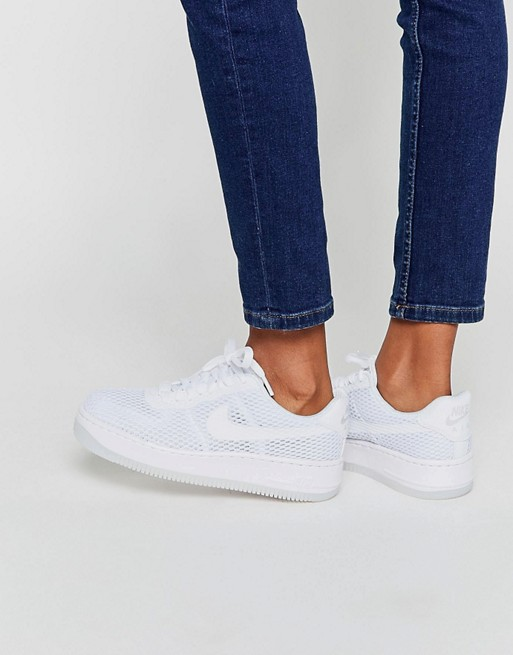 Home; Nike Air Force 1 Low Upstep Breathe Trainers. image.AlternateText