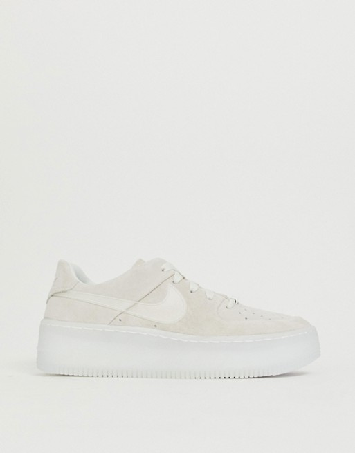 nike air force 1 sage gris