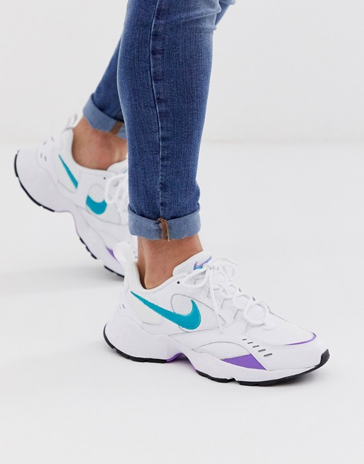 Nike Air Heights sneakers in white