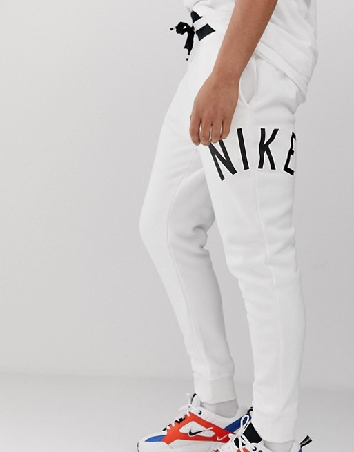 Pantalon de survêtement Nike Air Logo blanc 1389871