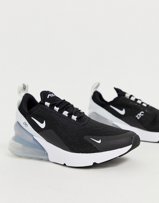 Afbeelding 1 van Nike - Air Max 270 - Sneakers in zwart en wit