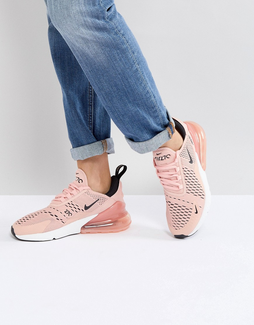 Nike Nike Air Max 270 Trainers In Pink
