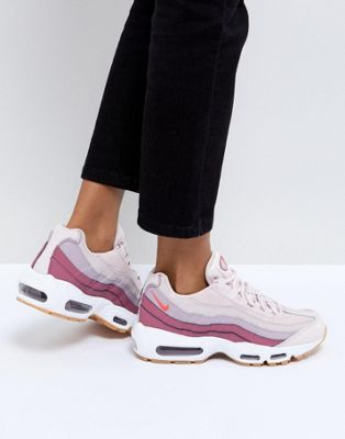 Nike Air Max 95 Trainers In Pink