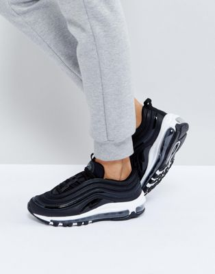 Nike Air Max 97 Premium Trainers In Black