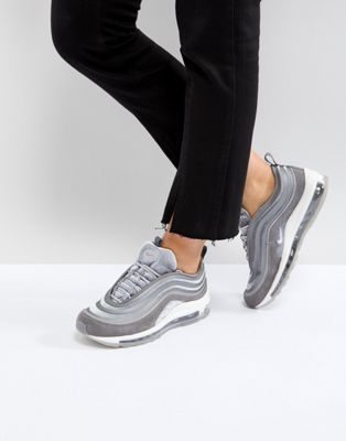 Nike Air Max 97 Ultra '17 Velvet Trainers In Grey