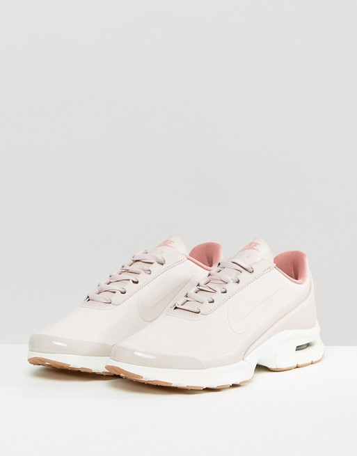 sale retailer 1138c d3aca Nike Air Max Jewell Sneakers In Pastel Pink Leather   ASOS