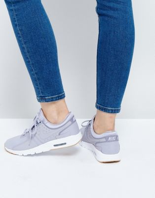 Nike - Air Max Zero - Baskets - Violet gris
