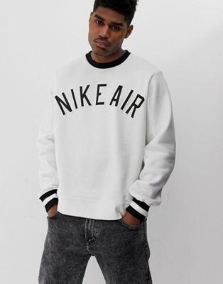 Image 1 sur Nike - Air - Sweat-shirt à logo - Blanc