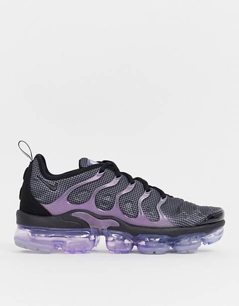 Nike – Air Vapormax Plus – Blå och lila träningsskor