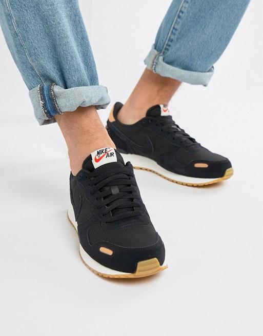 personaggio intelligenza Magazzino  Nike Air Vortex Leather Trainers In Black 918206-004   ASOS