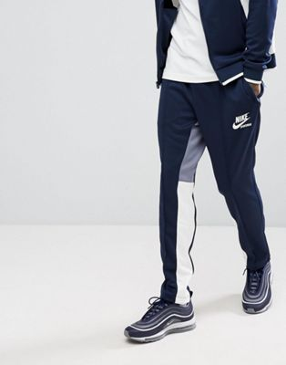 Nike Archive Retro Joggers In Navy 941849-451