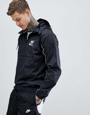 Nike Archive Woven Jacket In Black 941877-011