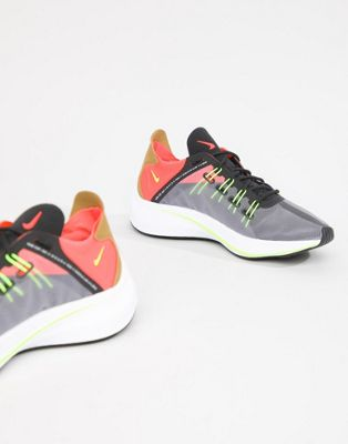 Nike Black With Lime Detail Future Fast Sneakers