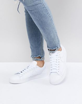Nike Blazer Sneakers In All White