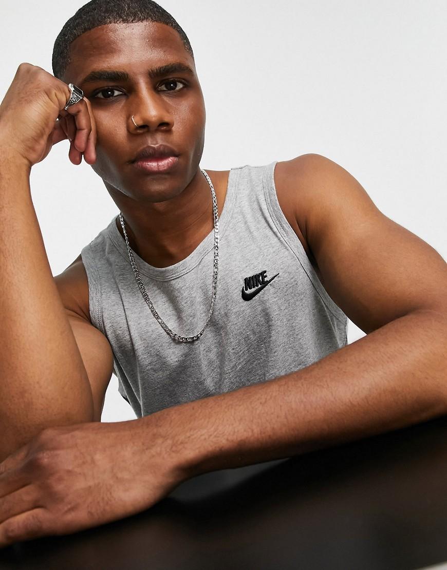 Nike - Club - Grå tanktop