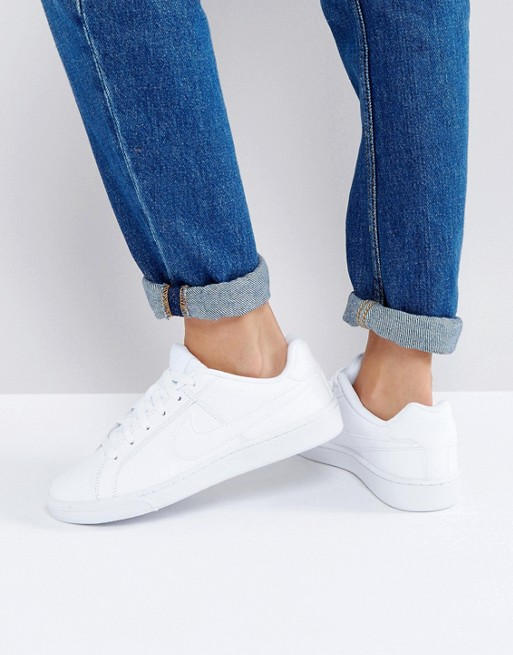 new concept 2a35f 15c6d Nike Court Royale Sneakers In White   ASOS