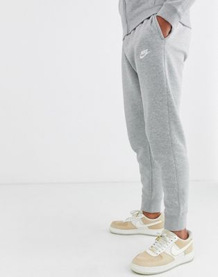 Nike Cuffed Club Jogger In Grey 804408-063