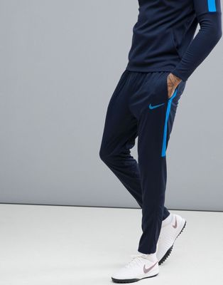 Nike Football Training Academy Dry Joggers In Blue 839363-458