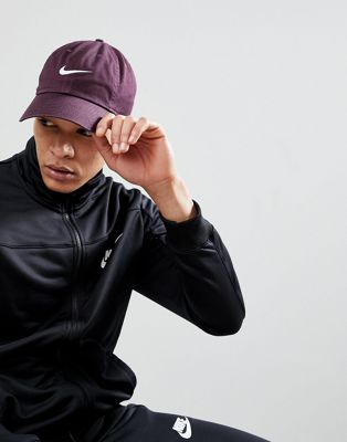 Nike H86 Logo Cap In Purple 546126-652