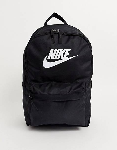 Nike heritage backpack in black