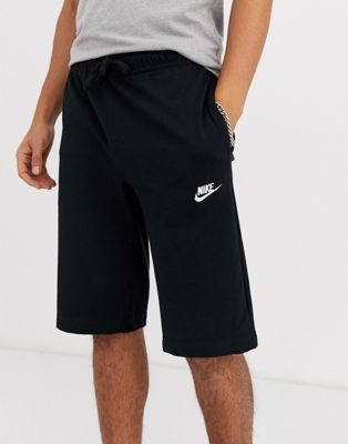 Nike Jersey Shorts In Black 804419-010