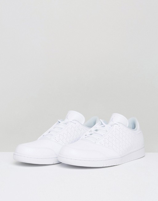 cdedf256eb473e Nike Jordan 1 Flight 5 Low Trainers In White 888264-100