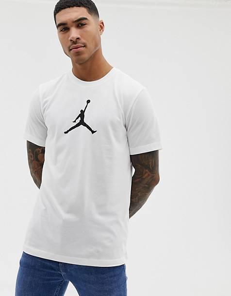 1cd0facc8bcee6 Nike Jordan Icon T-Shirt In White