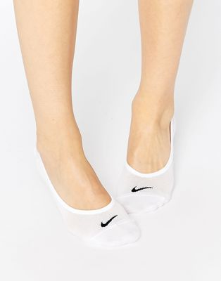 Nike lightweight white 3 pack no show socks