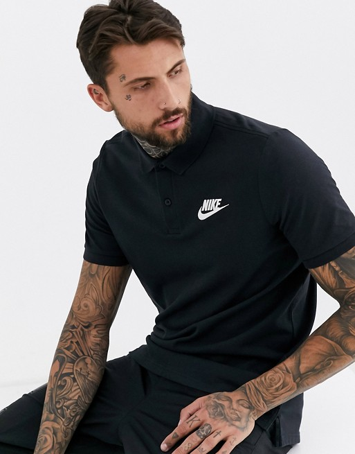 30ff37dd6076d Image 1 of Nike matchup polo shirt in black 909746-010