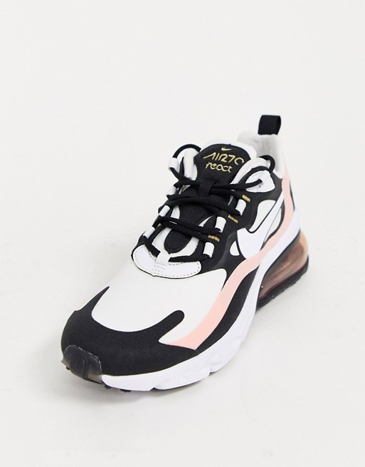 air max 270 react femme rose pale