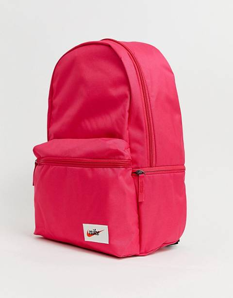 Nike Pink Heritage Label Backpack