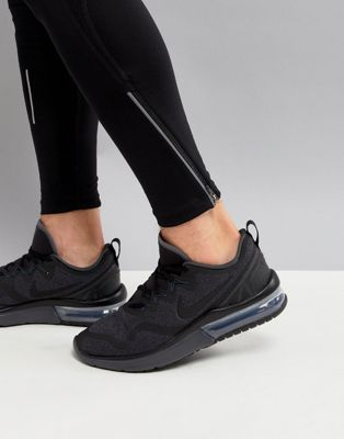 Nike Running Air Max Fury Trainers In Black AA5739-002