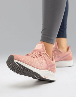 Nike Running Air Zoom Pegasus Sneakers In Pink