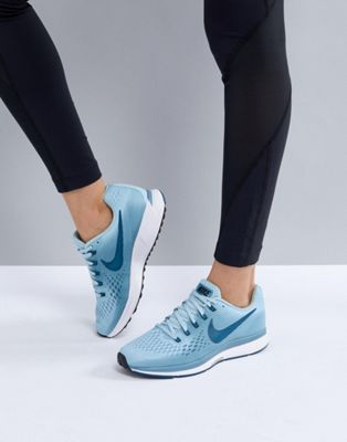 Nike Running Air Zoom Pegasus Trainers In Blue