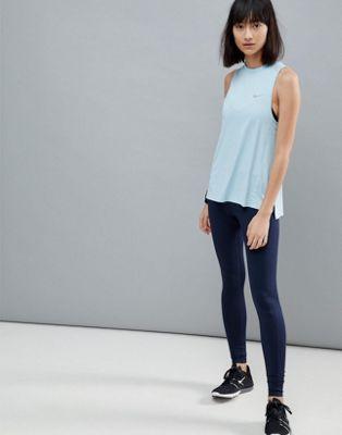 Nike Running - Dri-Fit Essential - Leggings blu