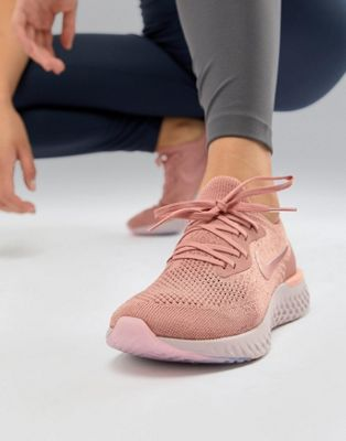 Nike Running Epic React Sneakers In Pink