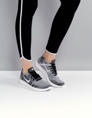 Image 1 of Nike Running Free Run Flyknit 2 Trainers