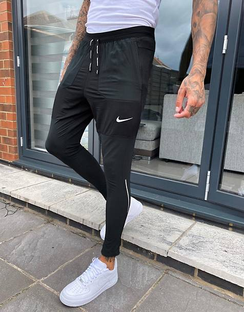 Nike Running phenom elite joggers in black