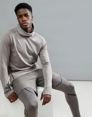 Bild 1 av Nike Running – Sphere Element – Brun huvtröja 943644-202