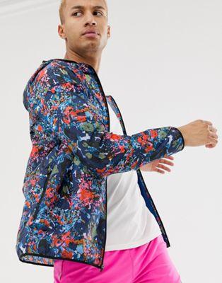 Nike Running windrunner printed jacket in MULTICOLOR