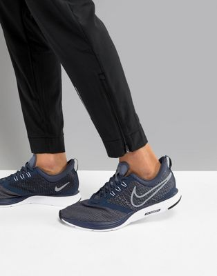 Nike Running Zoom Strike Trainers In Blue AJ0189-400